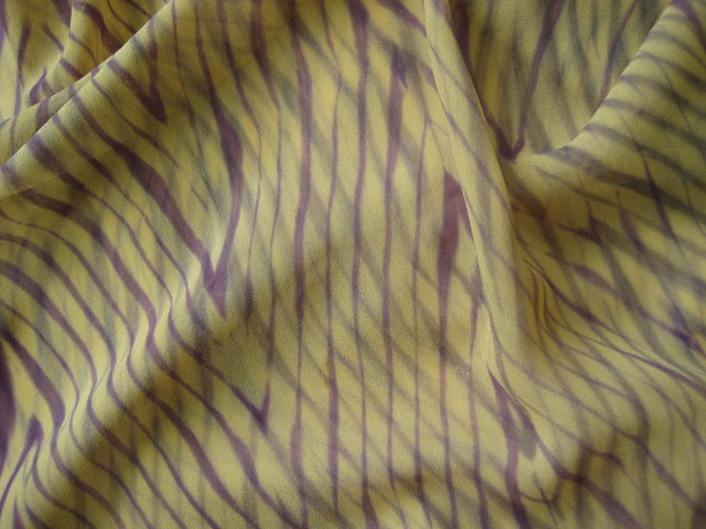 Shibori on silk
